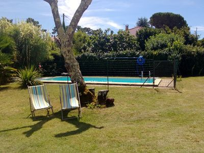 Self-catering holiday house for 8  with private pool