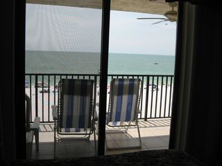 Seawinds condo photo - Ocean view from master bedroom. GLORIOUS!