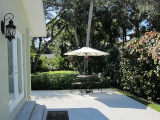 Vero Beach studio photo - private patio for your outside eating enjoyment