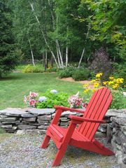 Windham estate photo - Peaceful moments, enjoying gardens throughout