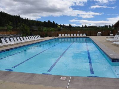 Roslyn Ridge Community Pool, stone Hot Tub,also tennis, basketball, volleyball,