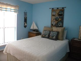 North Topsail Beach condo photo - 2nd Bedroom with Queen Bed