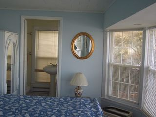 Stone Harbor property rental photo - Bay Front Master bedroom with New Private Bathroom