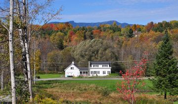 great fall views, a short drive to mansfield mountain in rear