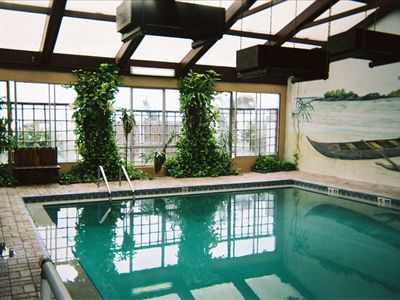 Hawaiian Inn Resort Condo Rental By Owner Indoor Pool --- heated with jets