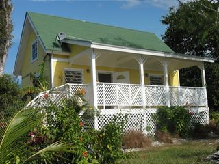 Grand Bahama Island cottage photo - Front view of Eden Cottage