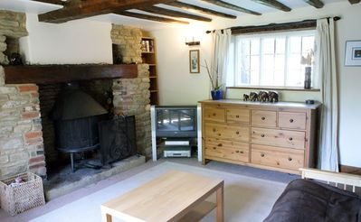 The Lounge and its Wood Burner