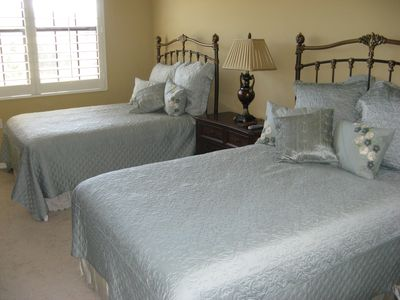 Bedroom Three With Two Double Beds
