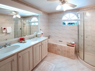 Sandy Lane villa photo - Master bathroom has a tub and shower