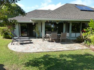 Princeville house photo - Spectacular tropical home surrounded by gardens!
