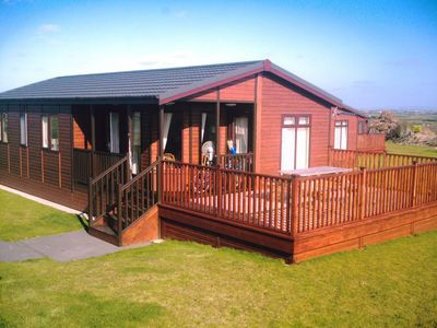 Padstow cabin rental - Exterior View of Lodge