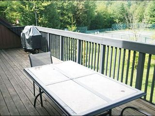 Stowe townhome photo - Gas Barbecue on the Deck