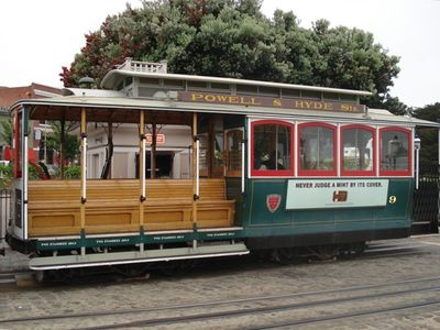 walk to Fishermans wharf and ride a cable car