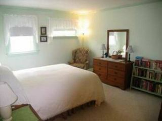 New Queen sized bed with ceiling fan and AC - Eastham house vacation rental photo