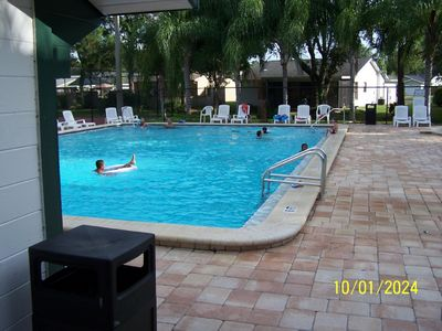 Large Beautiful Pool, includes Kids Pool, Play Ground, Park Area with Security.
