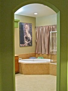 Archway Leds to Master Bedroom's Private Bathroom