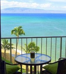 Kahana condo photo - Enjoy this view from the condo's Private Lanai!
