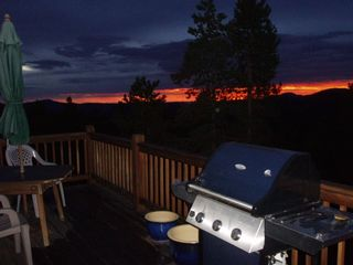 Evergreen cottage photo - Spectacular Sunrises right off the Great Plains