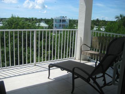 Balcony off of Master Bedroom, 3rd Floor