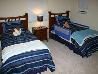 Estero house photo - Upstairs bedroom w 2 twin beds