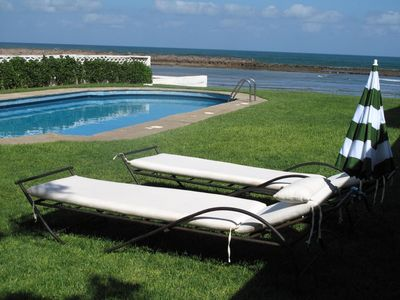 75sq.m pool on the waterfront