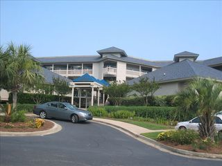 Harbor Island condo photo - Harbor Island Beach House Villa Entrance. Only building on HI w/elevator.