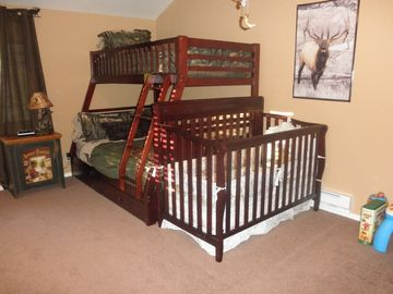 Elk Meadow Room Twin over Full. Memory Foam Mattresses. Crib