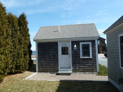 Narragansett cottage rental - Bedroom # 4, detached guest cottage