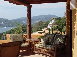 Zihuatanejo condo photo - Master Bedroom Terrace
