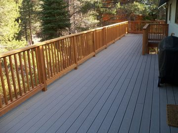 The Large Back Deck