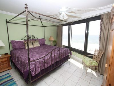 Master Bedroom with gorgeous gulf view