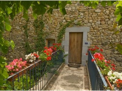 St Sauveur de Cruzieres cottage rental - Ardeche gites with pool - Le Fleuriste