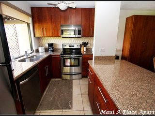 Kitchen from unit 33C Ekahi Village, One Bed-One Bath, Ocean View