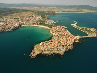 Sozopol house photo - Here is Sozopol from the air...