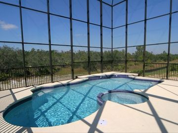 Reunion villa rental - Large Pool & Spa backing on to conservation area