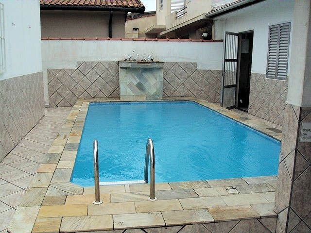 Villa with pool prox.  the Mongaguá Center - 1 suite