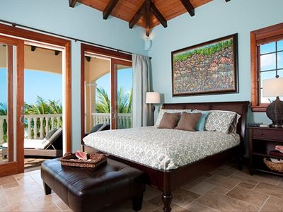 Providenciales - Provo villa rental - 2nd Floor Master Bedroom