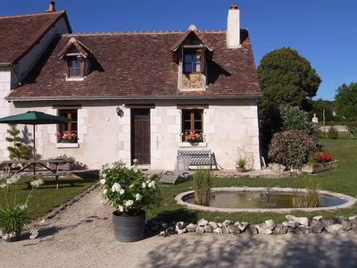 Rustic Gites in typical French countryside with heated, covered swimming pool  - The Farmhouse
