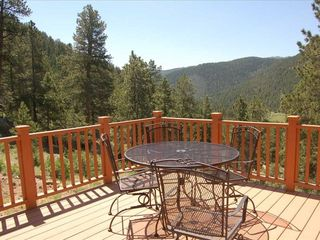 Estes Park house photo - View from Dining Area Deck