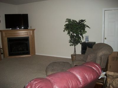 Camdenton house rental - Lower level family room!