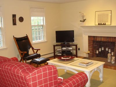 Plymouth house rental - Living Room