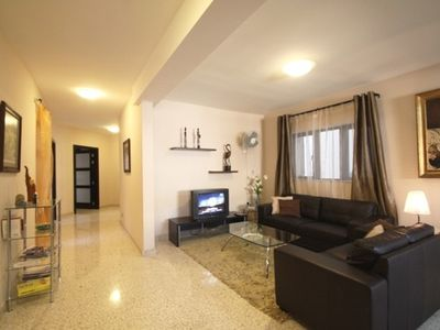 Haz-Zebbug apartment rental - Apartment 1 Living room