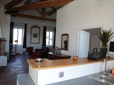 Gite 88 m2 renovated wine estate 15 km sea animals [donkeys, sheep dog cat]
