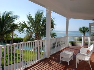View of Atlantic from deck of this oceanfront home