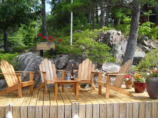 Thousand Islands cabin photo - Best place for your morning coffee or evening cocktails