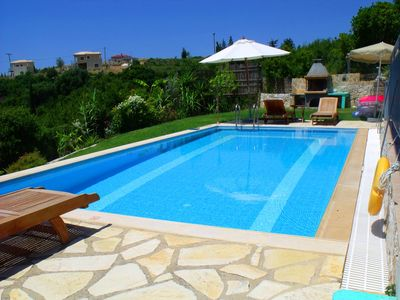 Skala villa rental - Apollo's pool