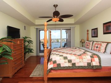 Master Suite with Hardwood Flooring. Direct Access to Balcony