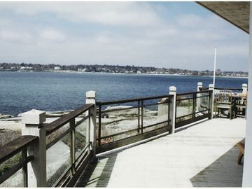 View of deck towards First Beach