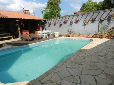 Gorgeous house - Atibaia. Pool, BBQ, Fireplace, WiFi. Leisure complete