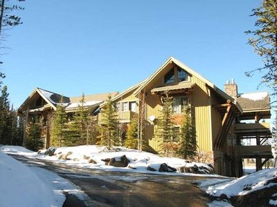 Ski-in, Ski-out luxury condo in Big Sky, MT